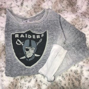 RAIDERS long sleeve thermal size L
